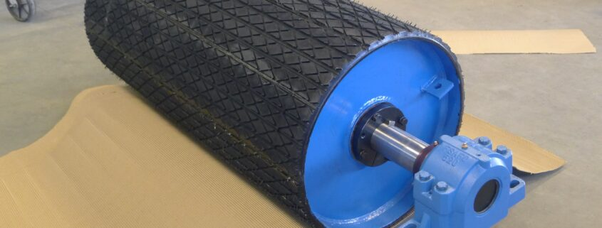 Types of Pulley lagging explained