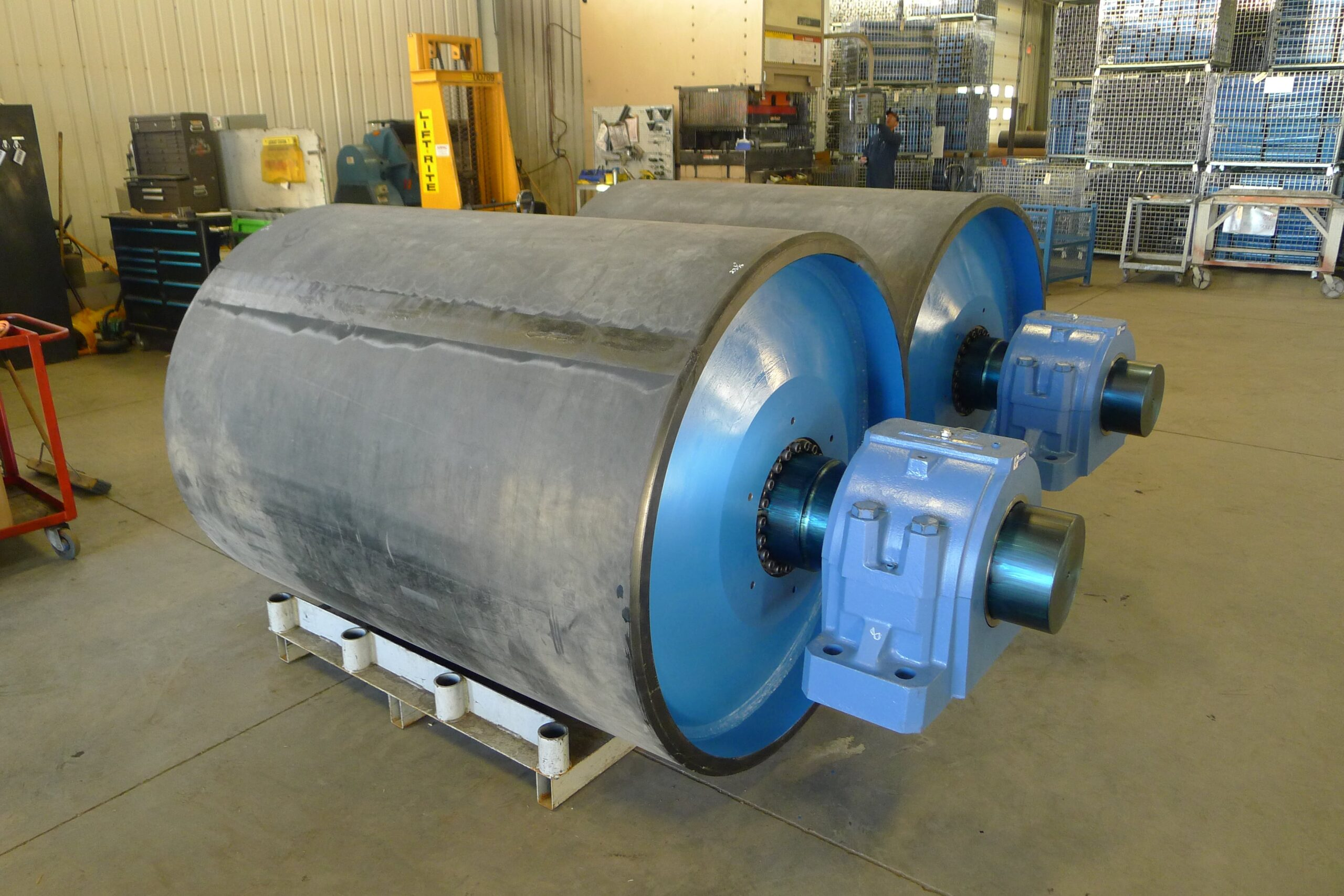 Various types of Pulley Lagging explained